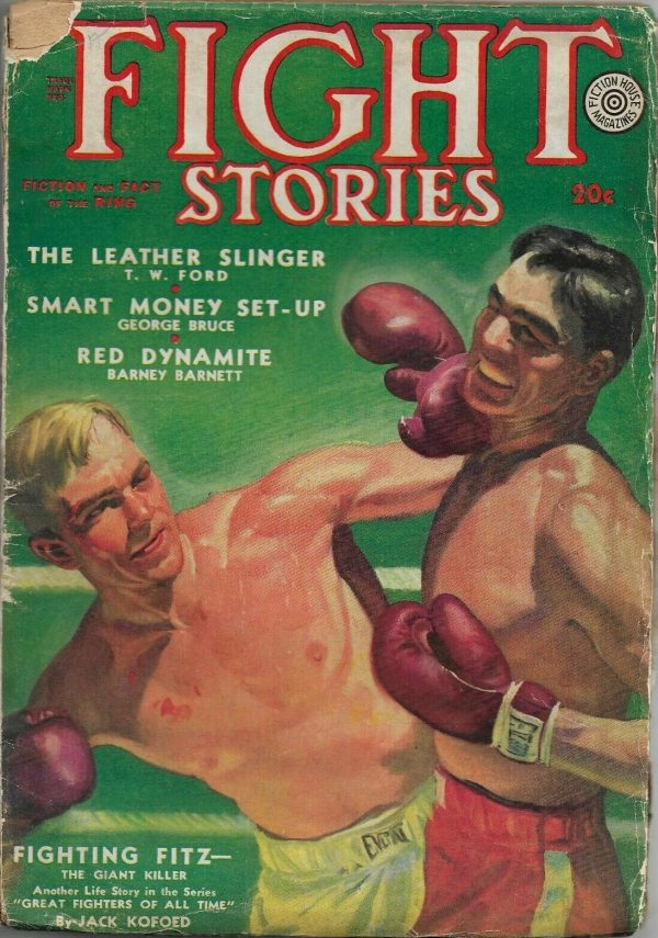FIGHT STORIES Spring 1938