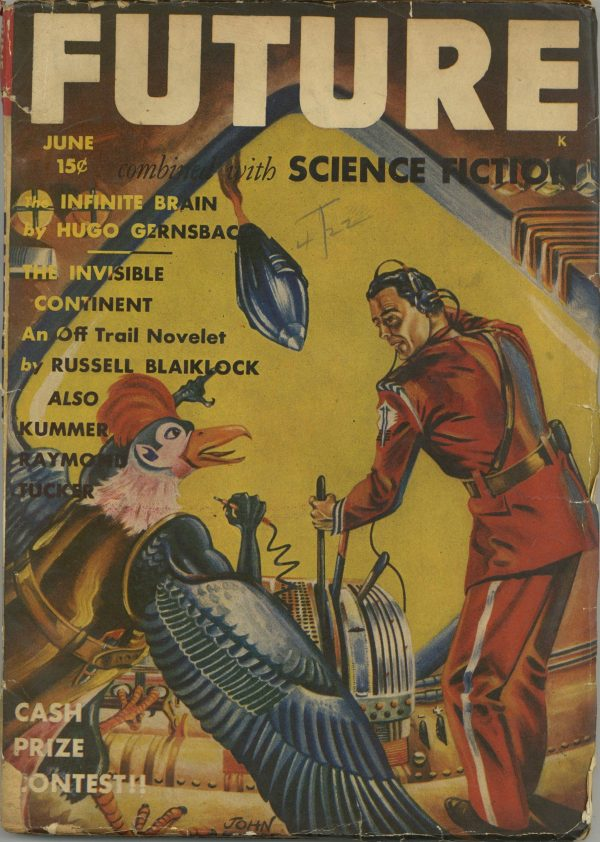 Future Combined with Science Fiction, June 1942