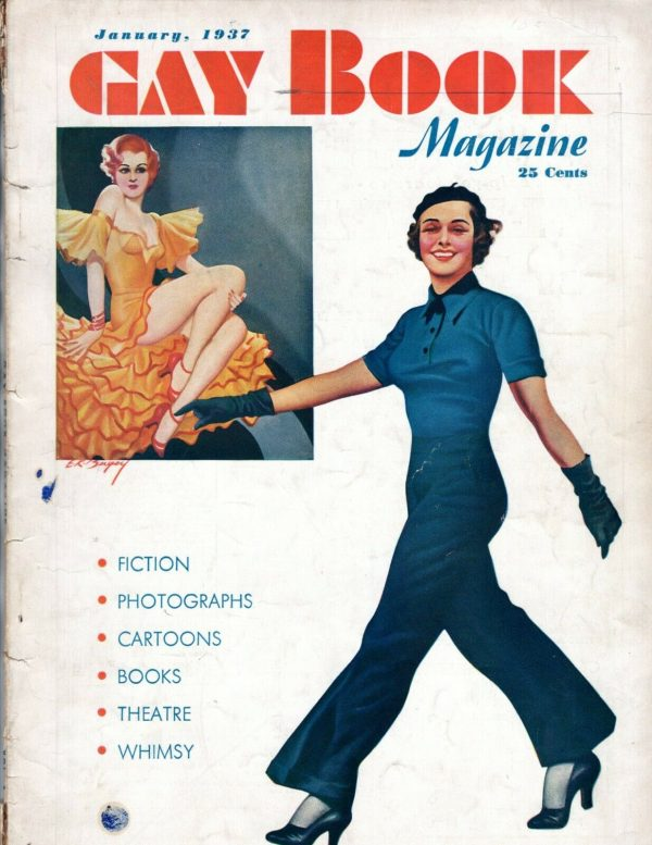 Gay Book January 1937