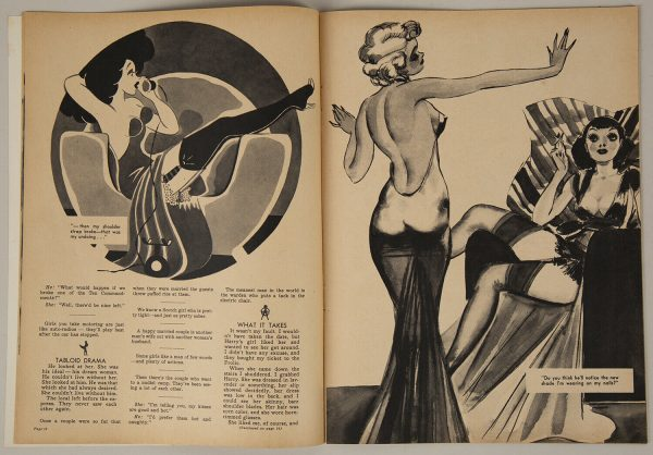 High Heel Magazine April 1937 p12-13