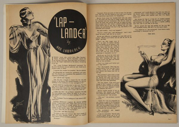High Heel Magazine April 1937 p6-7