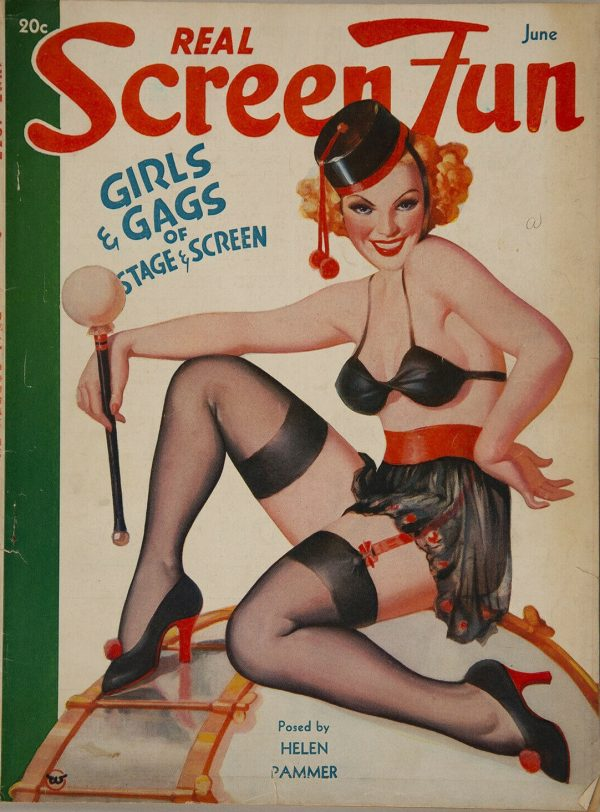 June 1937 Real Screen Fun Magazine