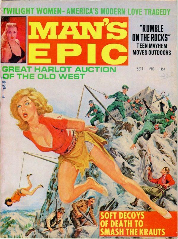 MAN'S EPIC September 1966