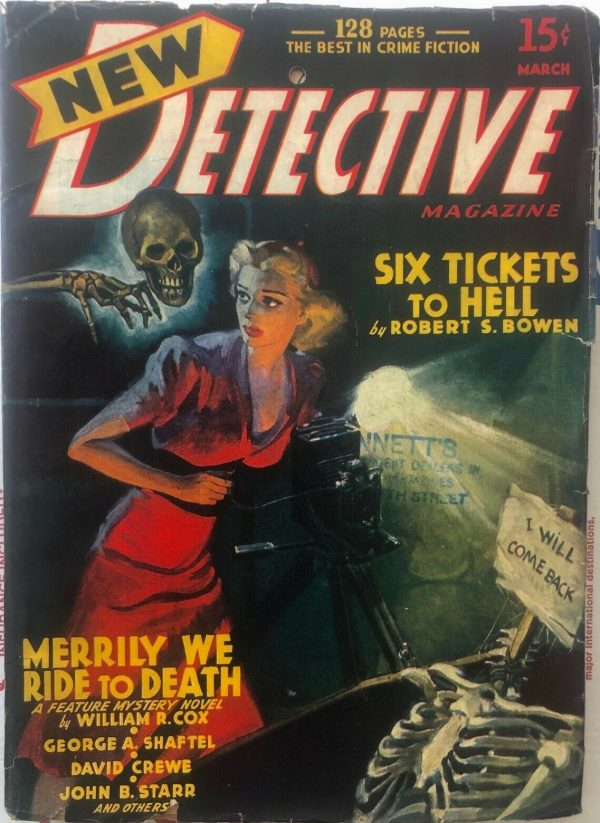 NEW DETECTIVE March 1941