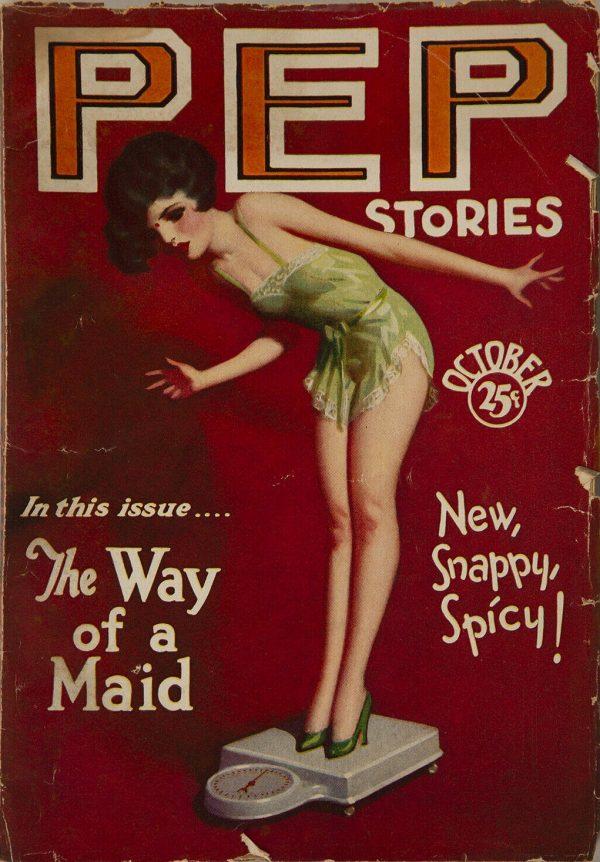 Pep Stories October 1929