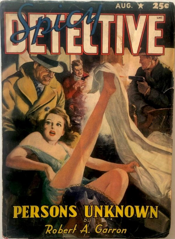 SPICY DETECTIVE August 1941