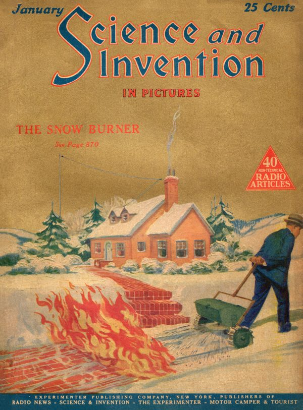 Science and Invention January 1925