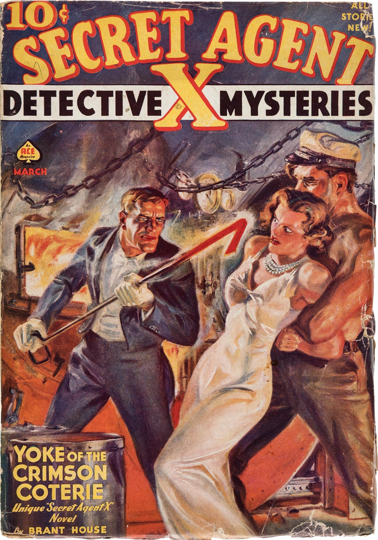 Secret Agent X, March 1939