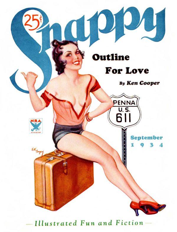 Snappy September 1934