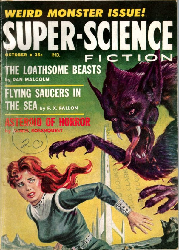 Super-Science Fiction, October 1959