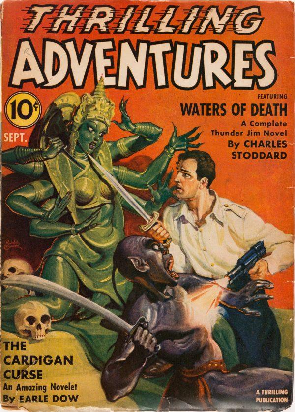 Thrilling Adventures - September 1941