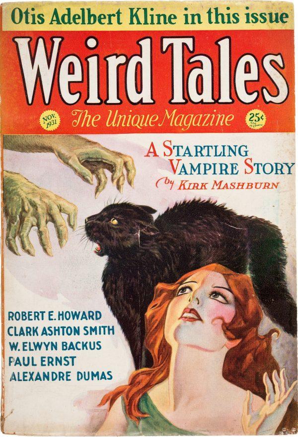 Weird Tales - November 1931