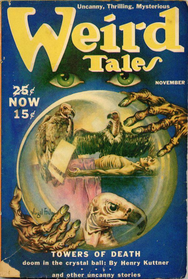 Weird Tales November 1939