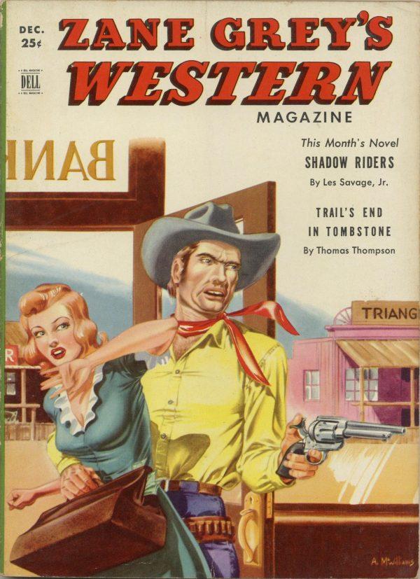 Zane Grey's Western Magazine December 1950
