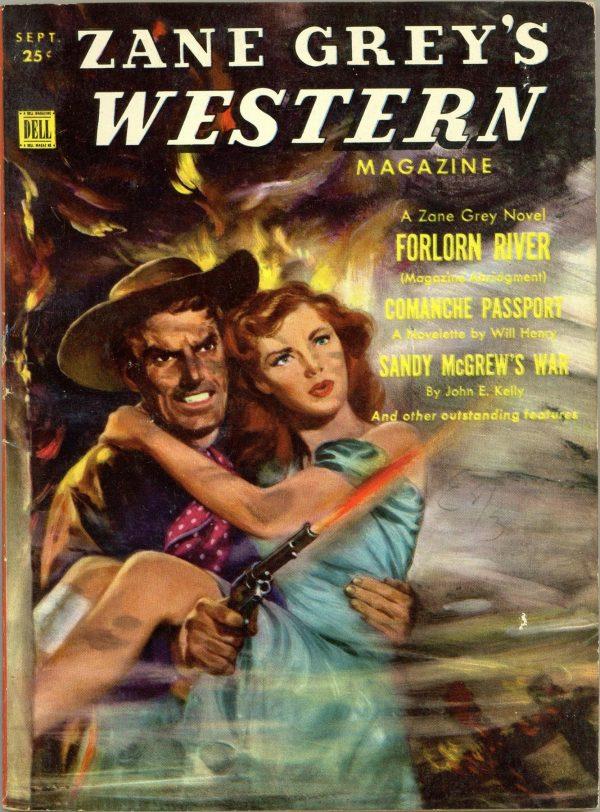 Zane Grey's Western Magazine September 1951
