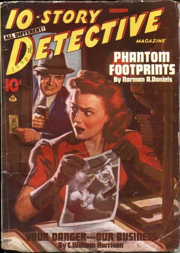 10-STORY DETECTIVE January 1944