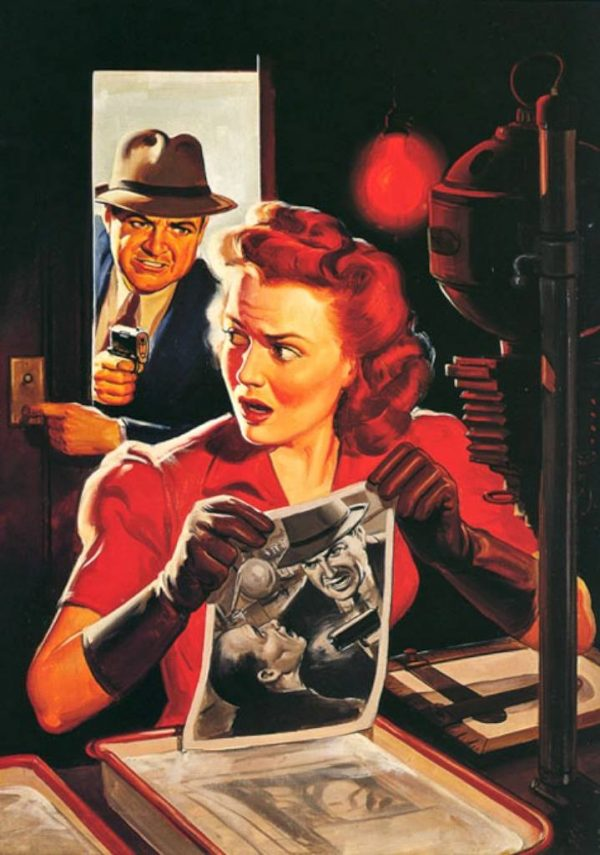10-STORY DETECTIVE January 1944 cover