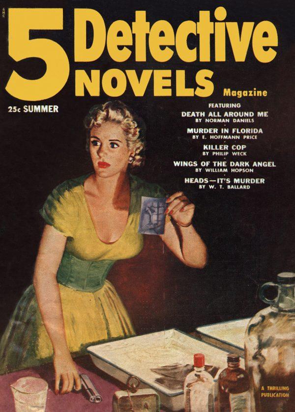 5 Detective Novels 1953 Summer