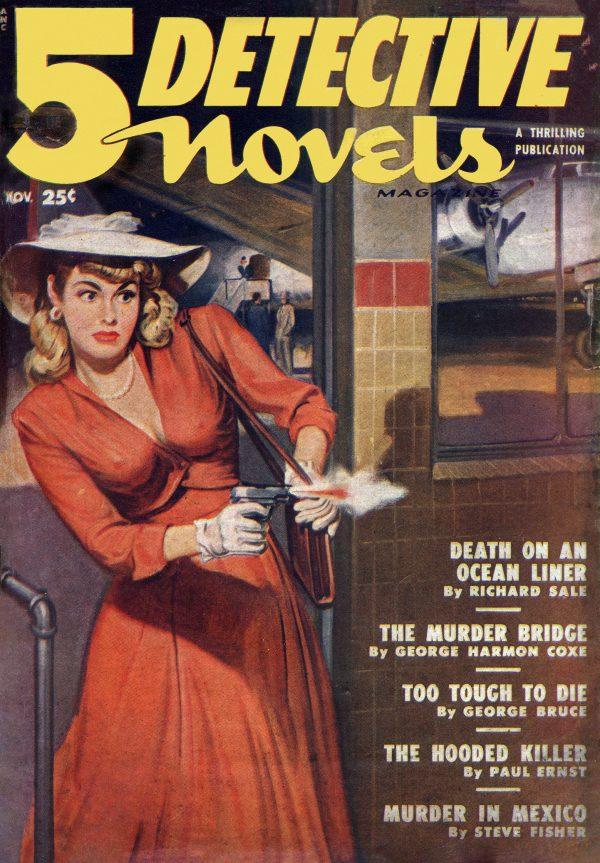5 Detective Novels, November 1949