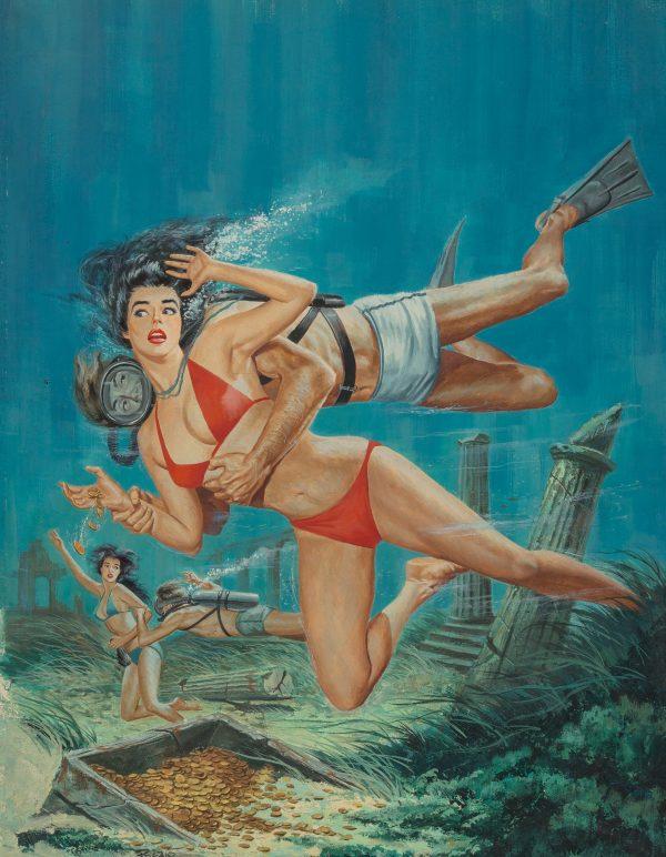 Adventure cover, June 1961