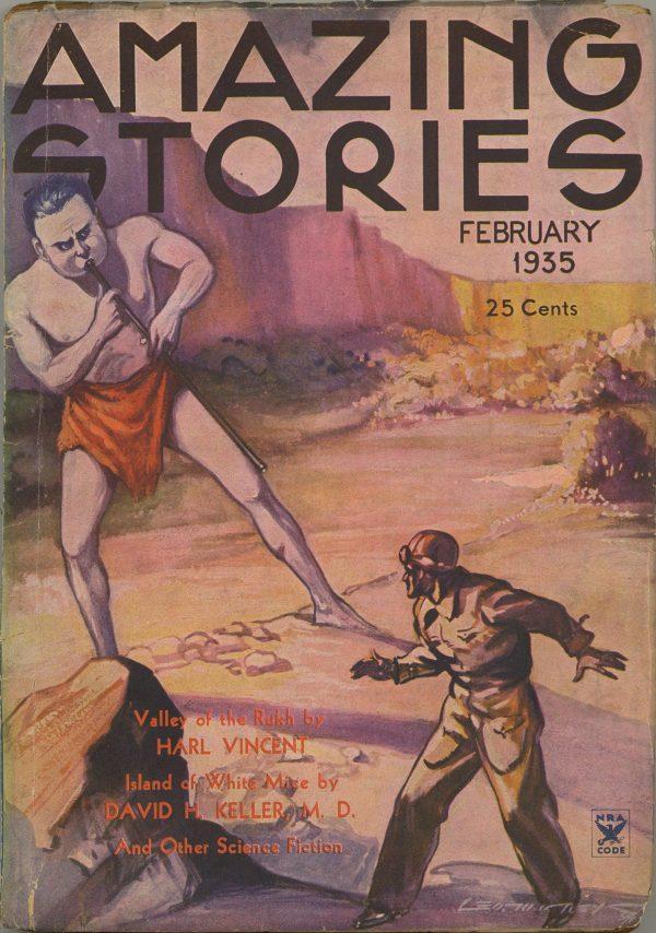 Amazing Stories, February 1935