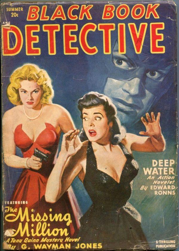 BLACK BOOK DETECTIVE-SUMMER 1949