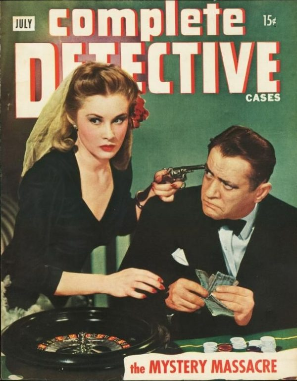 Complete Detective Cases July 1945