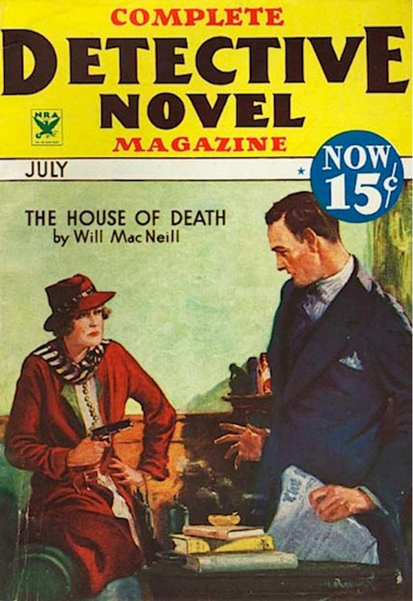 Complete Detective Novel Magazine, July 1934