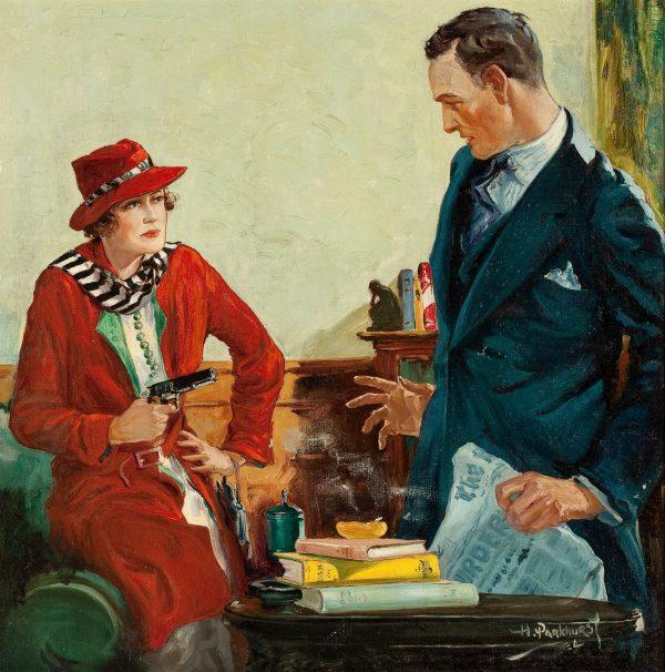 Complete Detective Novel Magazine, July 1934 cover