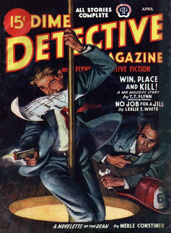Dime Detective April 1945