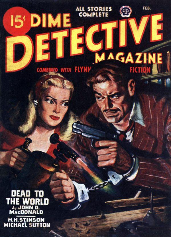 Dime Detective February 1947