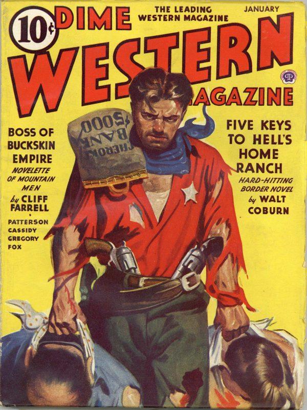 Dime Western Magazine January 1944