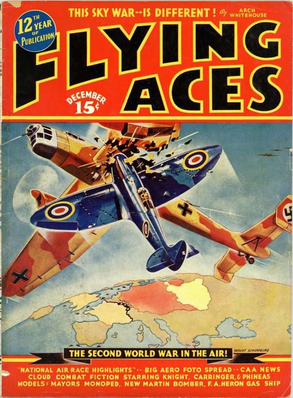 Flying Aces December 1939
