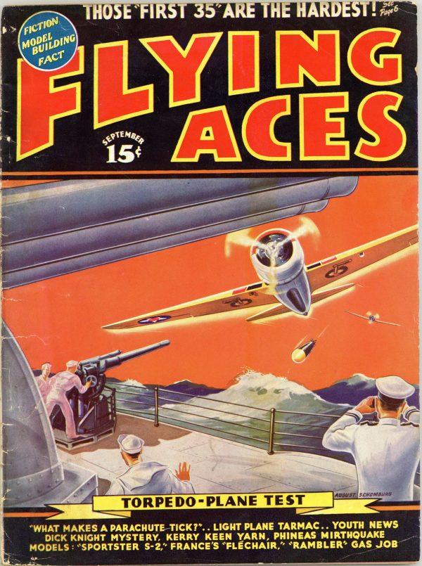 Flying Aces September 1939