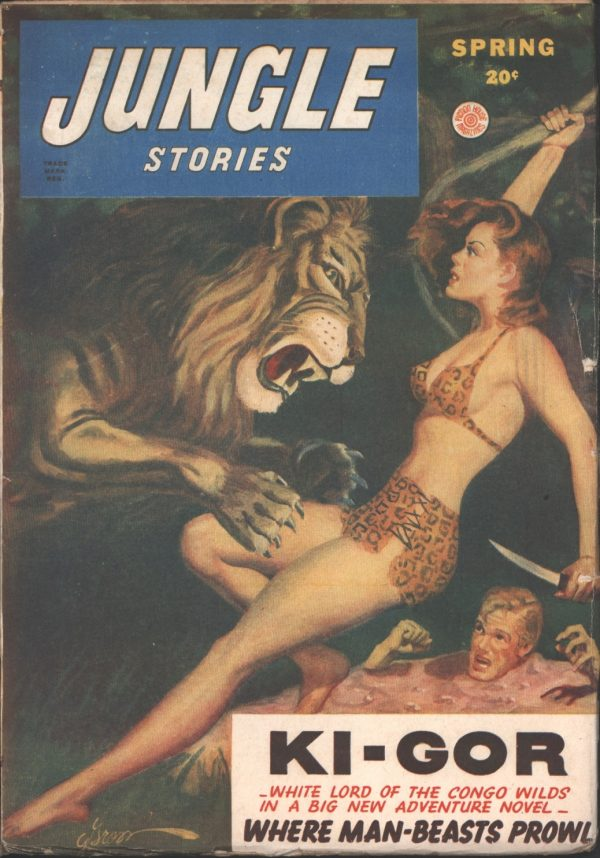 Jungle Stories 1947 Spring