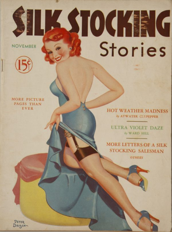 Silk Stocking Stories November 1937
