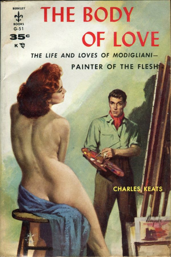 The Body of Love. Berkley G-51, 1957