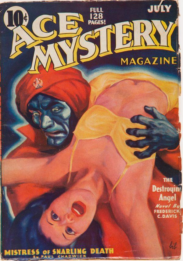 Ace Mystery - July 1936