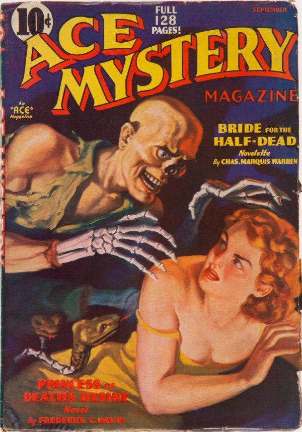 Ace Mystery - September 1936