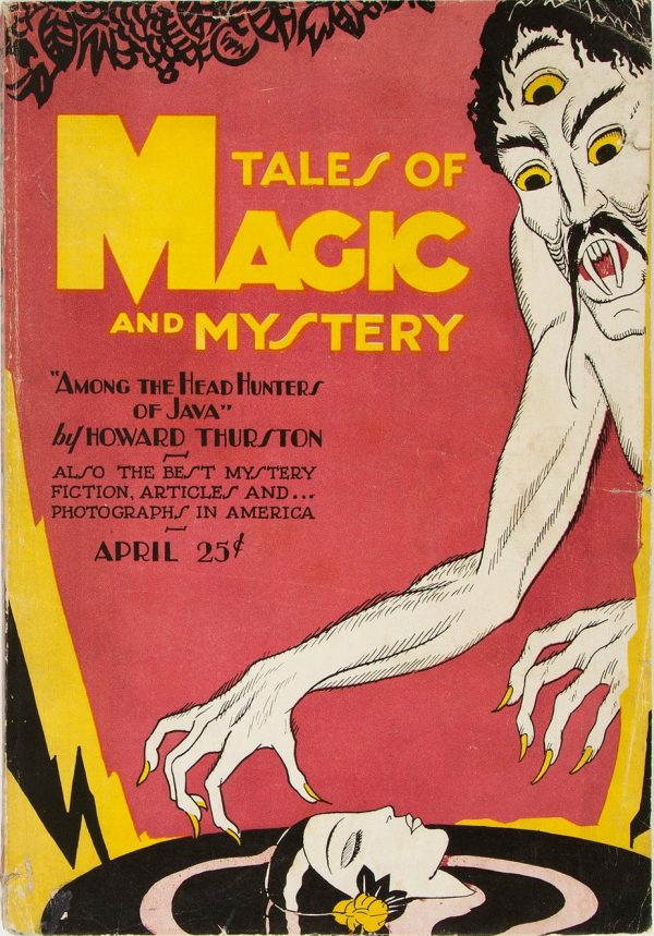 April 1928 Tales of Magic and Mystery