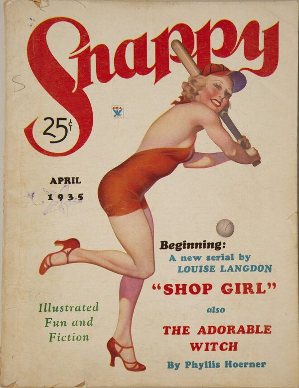 April 1935 Snappy Magazine