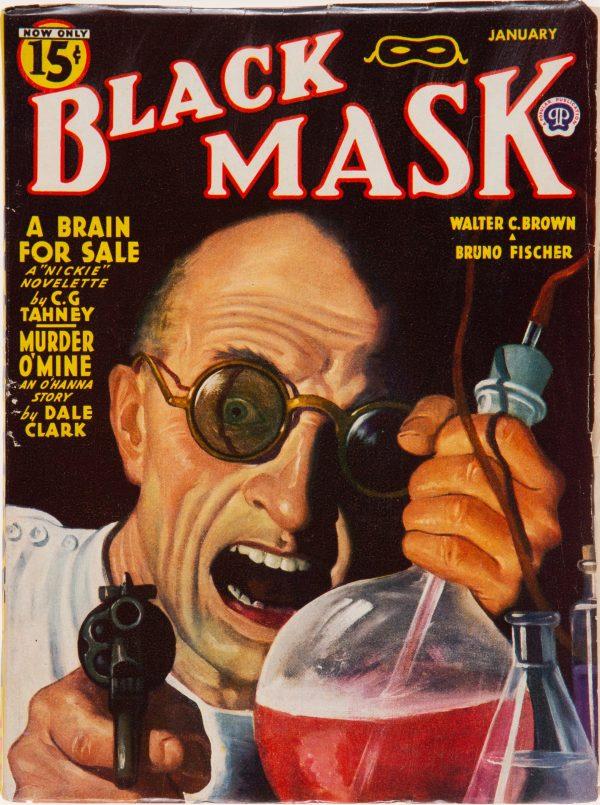 Black Mask - January 1944
