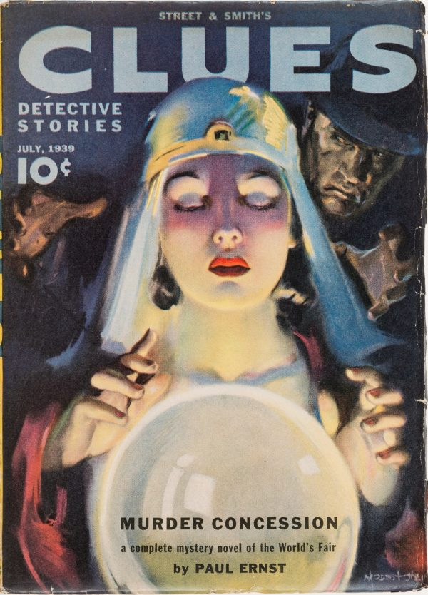 Clues Detective Stories - July 1939