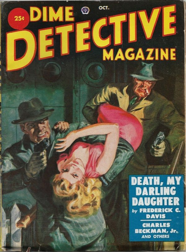 Dime Detective Magazine October 1951