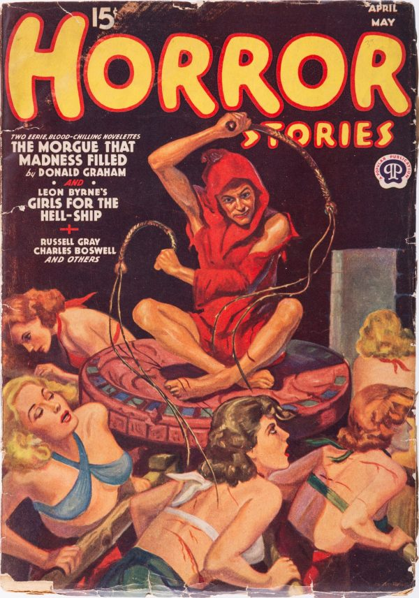 Horror Stories - April May 1939