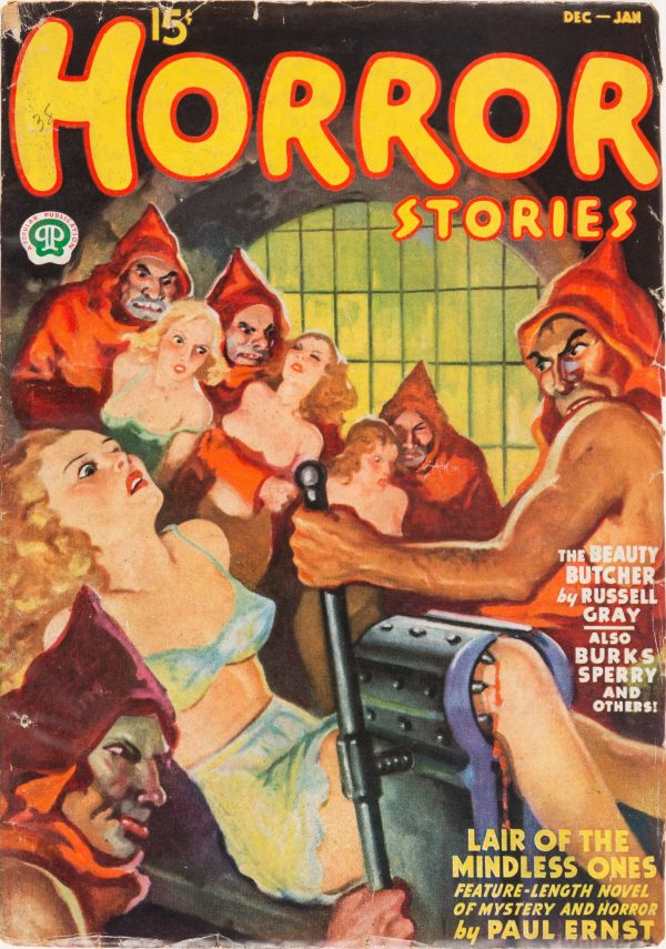 Horror Stories December 1937-January 1938