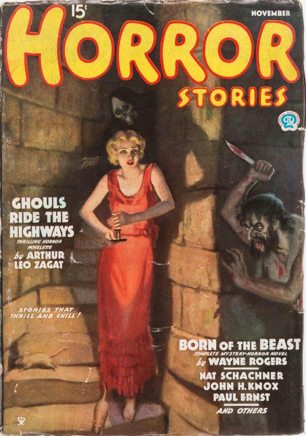 Horror Stories - November 1935