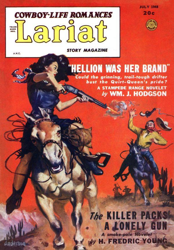 Lariat Story Magazine July 1948