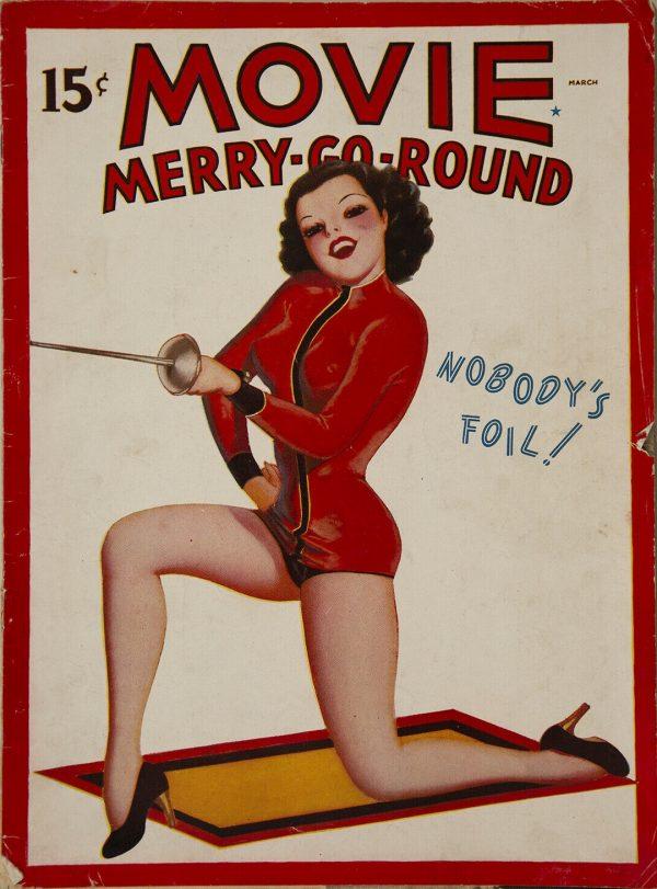 March 1938 Movie Merry-Go-Round Magazine