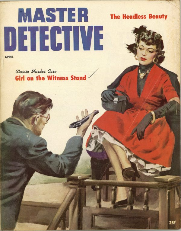 Master Detective True Crime Magazine April 1954